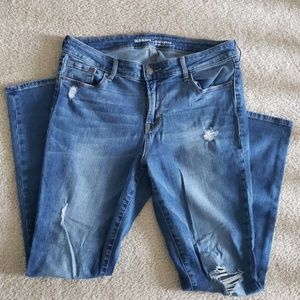 Old Navy Distressed Rockstar Jeans